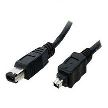 StarTech.com IEEE-1394 Firewire Cable 4-6 - IEEE 1394 cable - 30 cm