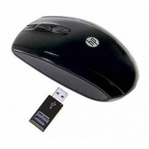 HP Wireless Black USB Optical Mouse and USB Receiver Kit