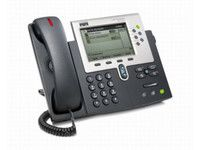 Cisco IP Phone 7961G-VoIP phone -TX-SCCP-silver, dark gray