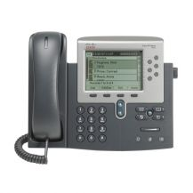 Cisco Unified IP Phone 7962G-VoIP phone-SCCP, SIP-silver, dark gray