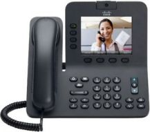 Cisco Unified IP Phone 8941 Slimline-IP video phone-SCCP, SIP-multiline