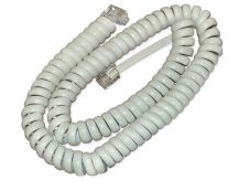 Cisco-Handset cable-white-for 6901, 6911, 6921, 6941, 6945, 6961, 8941, 8945