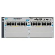 HP 5406-44G-PoE+-2XG v2 zl Switch-L4-managed-44 x 10/100/1000 (PoE) + 2 x 10