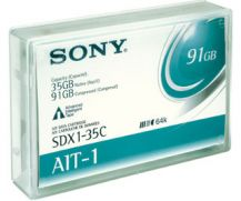 Sony AIT-1 35 gb/91GB Tape Cartridge -Advance Metal Evaporated (AME)