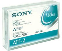 Sony AIT-2 50gb / 130GB Tape Cartridge-Advance Metal Evaporated (AME)